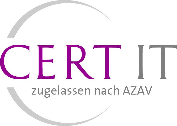 AZAV Zulassung der Expleo Academy  Cert-IT GmbH