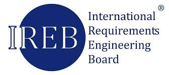 IREB Logo. IREB, das International Requirements Engineering Board, ist eine Non-Profit-Organisation und der Entwickler des CPRE (Certified Professional for Requirements Engineering) Zertifizierungskonzepts.